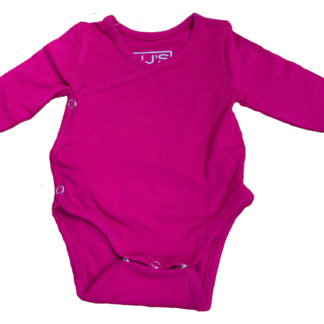 baby body long sleeves sangria